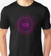 Black Sun Rising Unisex T-Shirt