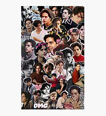 Cole Sprouse Collage 2  Photographic Print