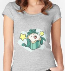 Merry Birbmas! Women's Fitted Scoop T-Shirt