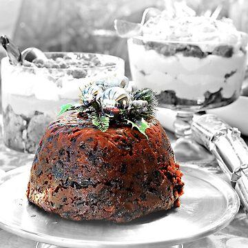 Christmas pudding by KarenTregoning