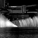 Showtime! The Bellagio Water Fountain by Christine Till  @    CT-Graphics
