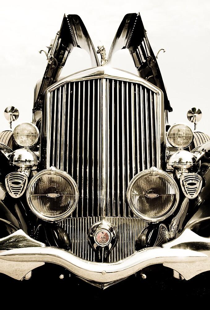 Antique Car - Pierce Arrow by Miko Coffey