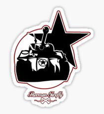Sherman firefly Sticker