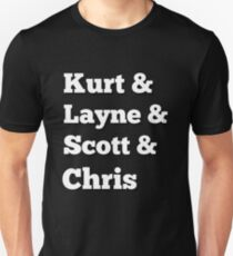 Kurt Layne Scott and Chris Rock Legends Unisex T-Shirt