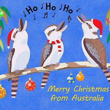 Kookaburras Australian Christmas Carols  by JumpingKangaroo
