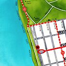 San Francisco map - Outer Sunset by Localist