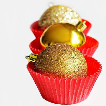 Christmas cupcakes by KarenTregoning