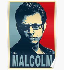 Ian Malcolm Poster