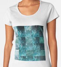 Abstract sea Women's Premium T-Shirt