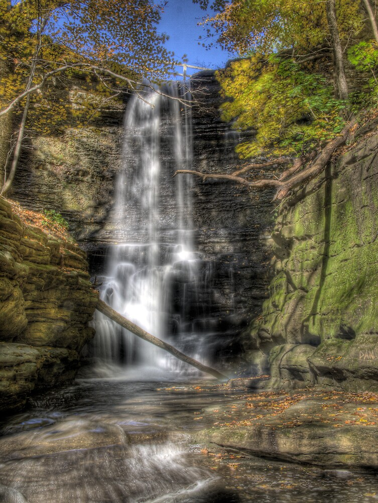 State Park HDR Series - Matthiessen State Park - Lake Falls by JThill