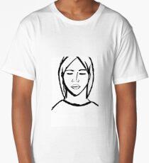 Comic girl Long T-Shirt