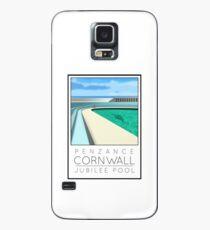 Lido Poster Penzance Jubilee Case/Skin for Samsung Galaxy