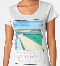 Lido Poster Penzance Jubilee Women's Premium T-Shirt