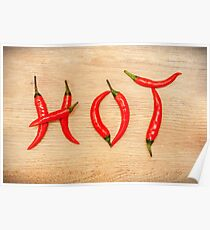 Hot Chili Peppers Poster