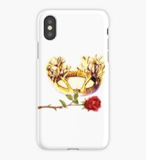 The Stag and Rose iPhone Case/Skin