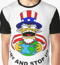 Try And Stop USA! Graphic T-Shirt