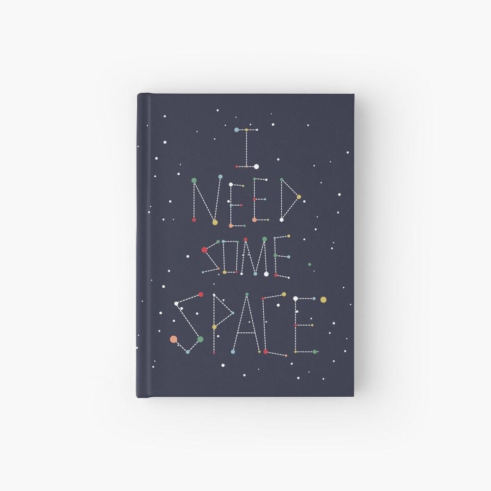 Necesito algo de espacio Cuaderno de tapa dura
