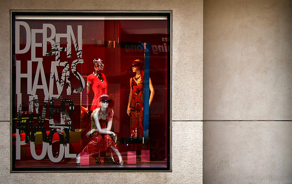 Window shopping by Bev Evans