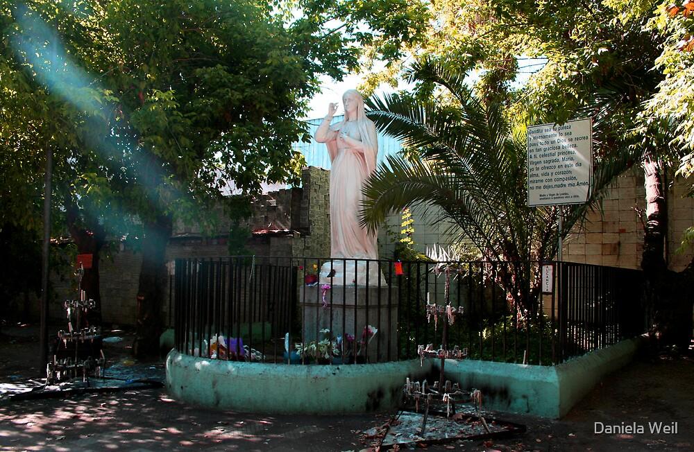 La Virgen de Lourdes by Daniela Weil