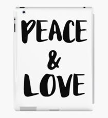 PEACE AND LOVE iPad Case/Skin