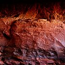 THE ANCIENT GRAFFITI OF WADI RUM by BYRON