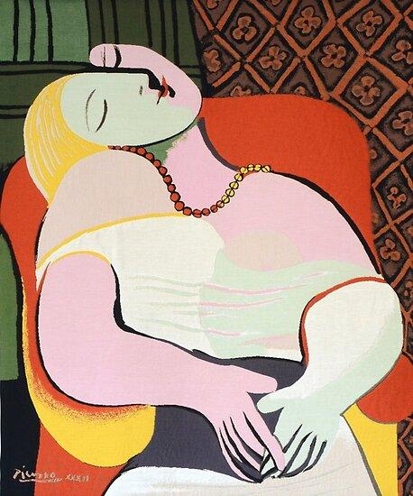 """Le Rêve (""""Der Traum"""") - Pablo Picasso von LexBauer"""