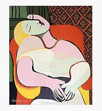 """Le Rêve (""""Der Traum"""") - Pablo Picasso Fotodruck"""