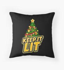 Keep It Lit Floor Pillow