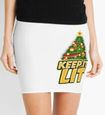 Keep It Lit Mini Skirt