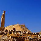 JERASH TEMPLE OF ZEUS by BYRON
