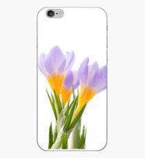 Blue crocus iPhone Case