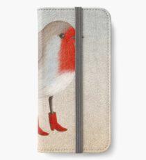 Robin iPhone Wallet/Case/Skin