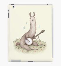 Banjo Lama iPad-Hülle & Klebefolie
