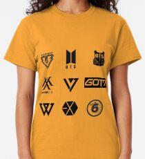 KPOP - Boy Group Sticker Sheet Classic T-Shirt