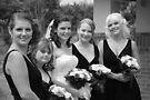 Alicia & Bridesmaids by Michael Rowley