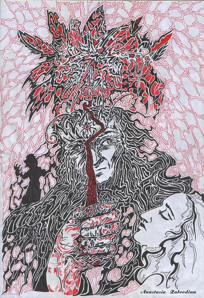 Scarlet Flower by Anthropolog