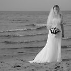 Alicia Wedding Beach Shoot by Michael Rowley