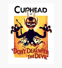 Cuphead Photographic Print