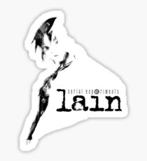 Serial Experiments Lain - Lain Fade Sticker