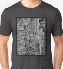 Serial Experiments Lain - wired in solitude  Unisex T-Shirt