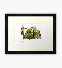 Eco Warrior (Female)  Framed Print
