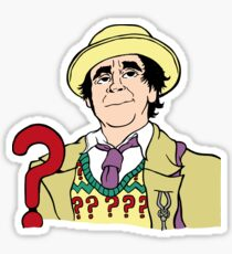 sylvester mccoy the seventh doctor ! Sticker
