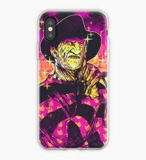 Neon Horror: Freddy  iPhone Case