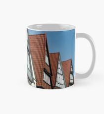 Celle Germany Old Timbered Houses in the Altstadt. Mug