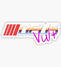 Deus Vult: Synthwave Vol. 2 Sticker
