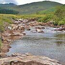A River Runs Through The Highlands by Carla Maloco