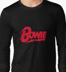 Bowie Logo Long Sleeve T-Shirt