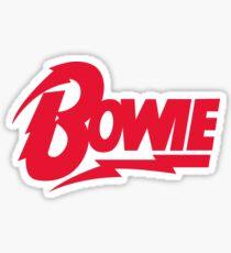 Bowie Logo Sticker