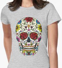 Sugar Skull Women's Fitted T-Shirt