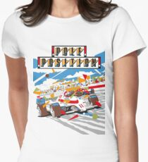 Gaming [Arcade] - Pole Position Women's Fitted T-Shirt
